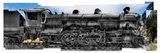 Mikado Locomotive Collage