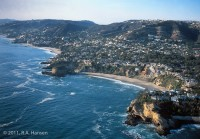 Aerial, Three Arch Bay, California, Coast
