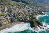 Aerial, California, coastline, Laguna