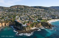 Aerial, Crescent Bay, Laguna Beach photo