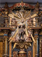 Mission, San Fernando, retablo, King Ferdinand, Tom Jewett