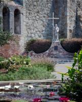 Mission, San Juan Capistrano, Fr. Serra, statue, Tom Jewett, San Juan, Serra