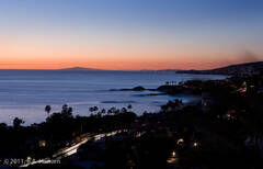 Coast 14, Laguna Beach nightfall #1