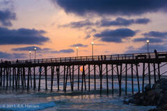 Coast 20, Oceanside pier sunset