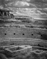 Kiva Detail, Chaco Canyon