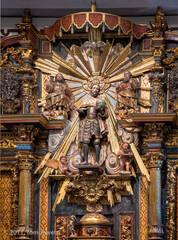 Mission, San Fernando, retablo, King Ferdinand, Tom Jewett