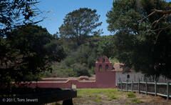 Mission, La Purisima, footbridge, State Historical Park, Tom Jewett