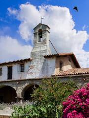 Mission, San Juan Capistrano, tower, bell tower, campanario, San Juan