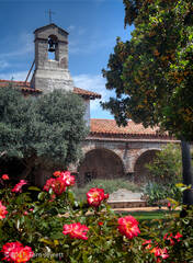 Mission, San Juan Capistrano, tower, campanario, Tom Jewett, San Juan