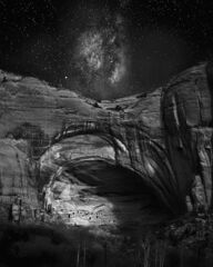 Moonrise over Betatikin Ruin