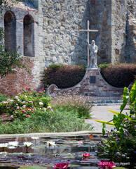 Fr. Serra Statue, Mission San Juan Cap.