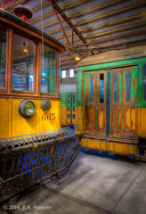 Trolley #665, Los Angeles Railway