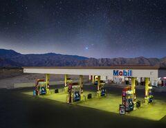 """Mobil Station"", Coachella, CA"