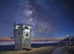 """Laguna Life Guard Tower"", Laguna Beach, CA"