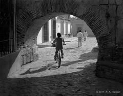 Plate #50: Street Scene #2, Yucatan
