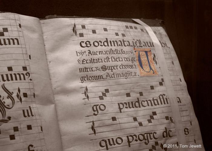 Book of Chants, Mission San Fernando Rey : San Fernando, CA