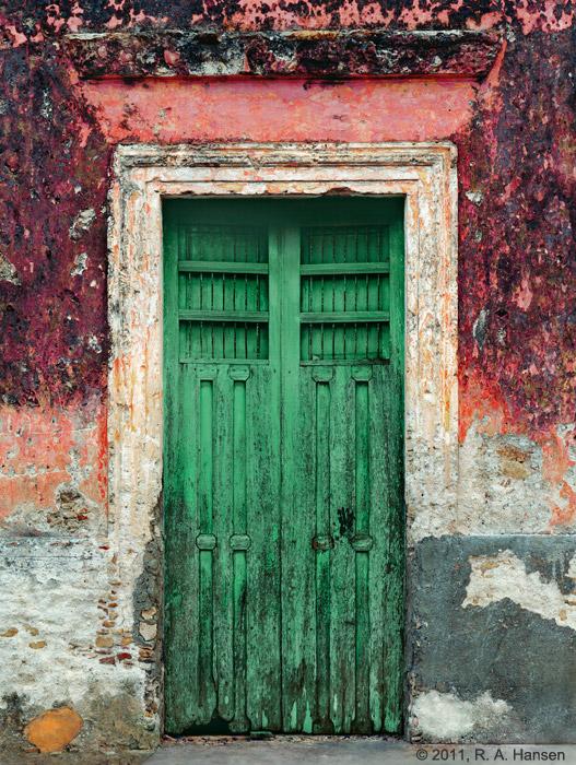 mexico photo & The Green Door Yucatan : Mexico : Robert Hansen Photography