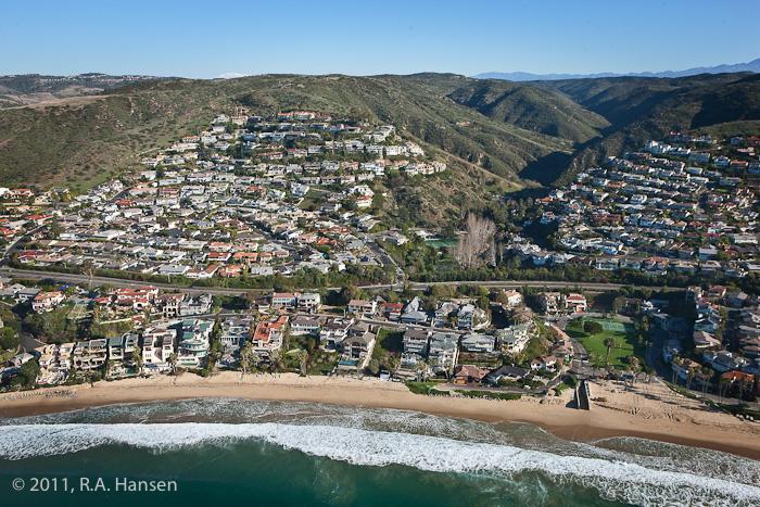 Aerial, Laguna Beach, Emerald Bay, photo
