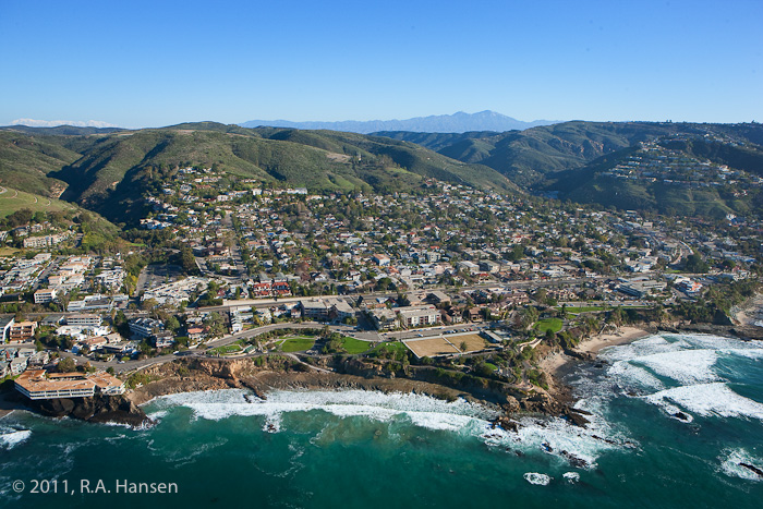 Aerial, California, coastline, Laguna, photo