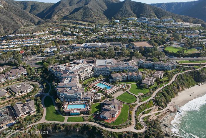 Aerial, California, coastline, Montage, Resort, photo