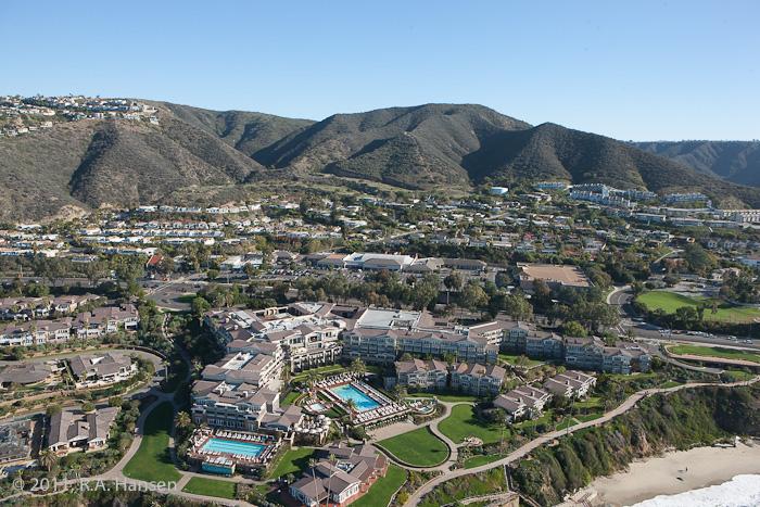 Aerial, California, coastline, Montage, photo