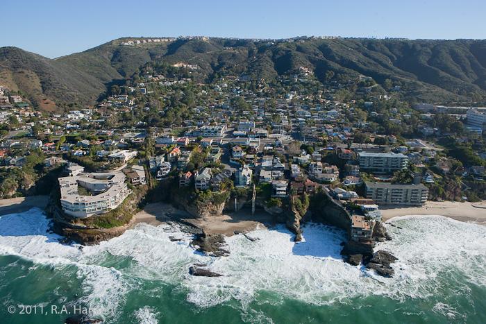 Aerial, California, coastline, Laguna, photo