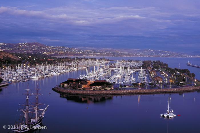 Aerial, Dana Point, Harbor, California, photo