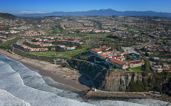 Aerial, California, coastline, Ritz Carleton, photo