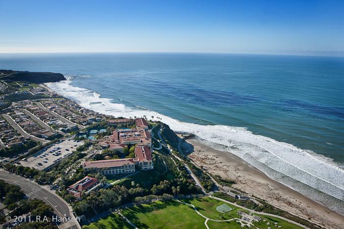 Aerial, California, coastline, Ritz Carlton, photo