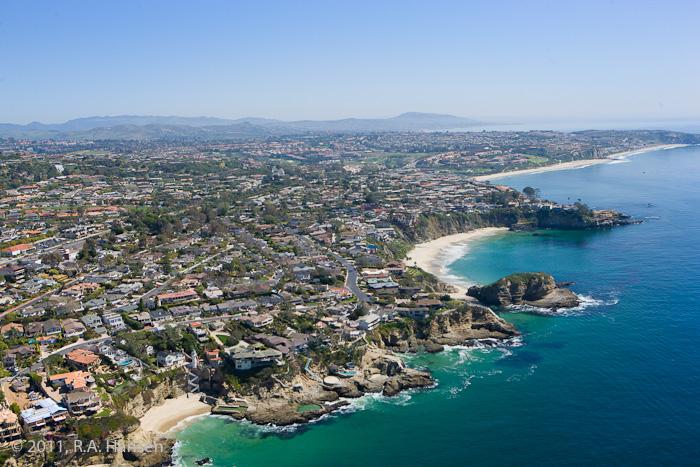 Aerial, Laguna Beach, Three Arch Bay, photo