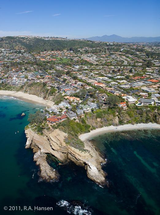 Aerial, California, coastline, Monarch Beach, photo