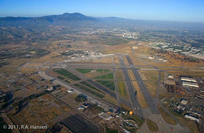 Aerial, El Toro, Great Park, Irvine, photo