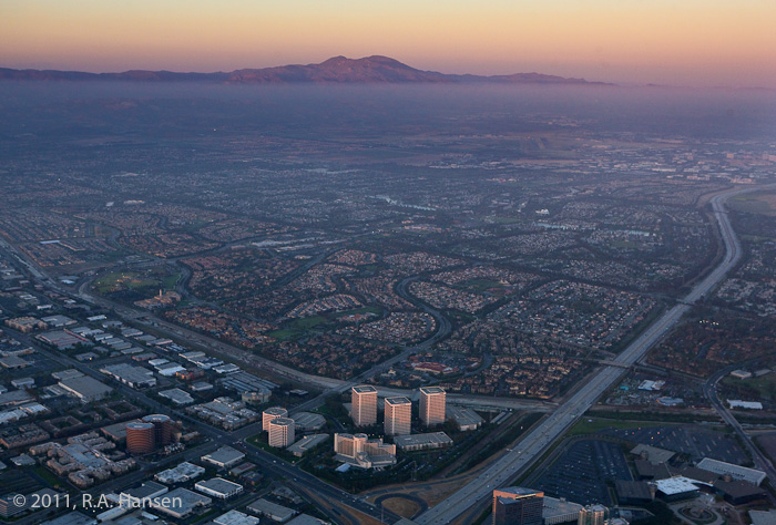 Aerial, Irvine, Saddleback Mountain, photo