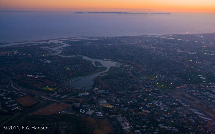 Aerial, California, coastline, Newport Beach, Irvine, Catalina, photo