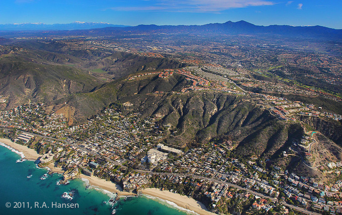 Aerial, California, coastline, Laguna, San Bernardino, photo