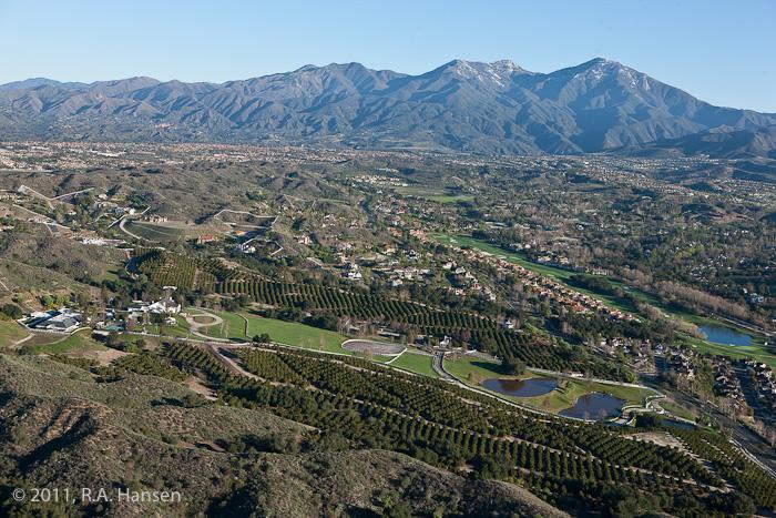 Aerial, Coto de Caza, California, photo