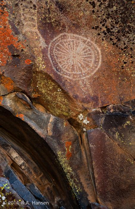 Clan Shield #20, Big Petroglyph Canyon