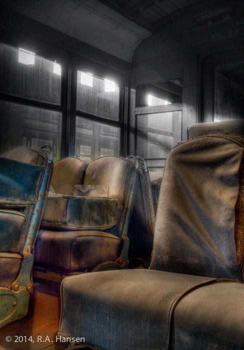 Interior #7, Los Angeles Railway