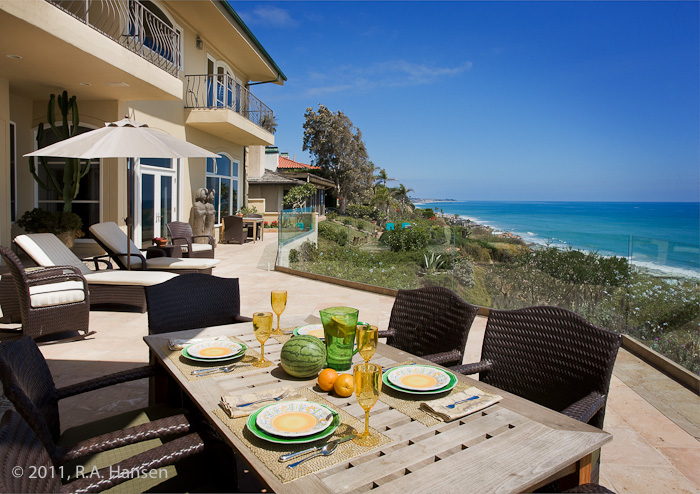 residence, patio, dining, ocean view, photo