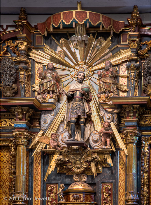 Mission, San Fernando, retablo, King Ferdinand, Tom Jewett, photo