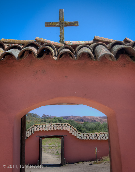 Mission, La Purisima Conception, cemetery, Tom Jewett, La Purisima, photo