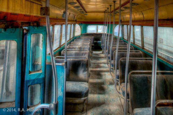 San Diego Metro Bus 528, Rear Seating
