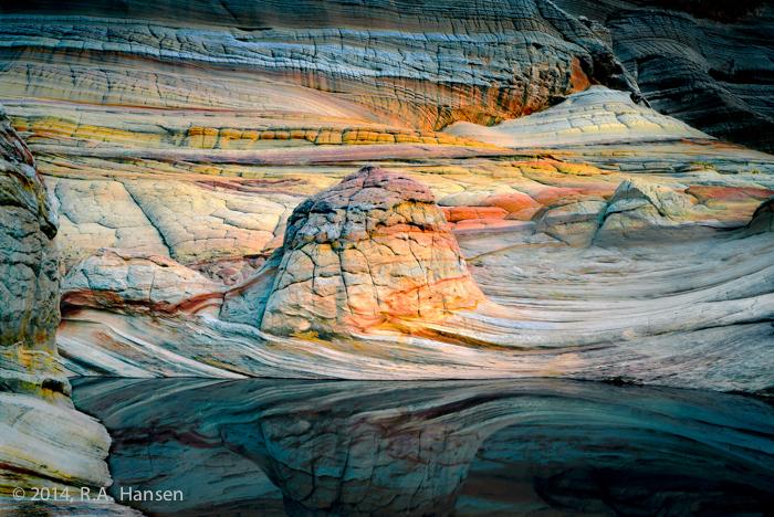 Sandstone Forms, Coyote Gulch